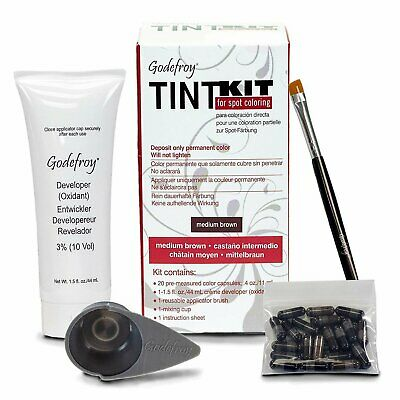 Godefroy Professional Eyebrow Tint Kit 20 Applications Choose Your Color