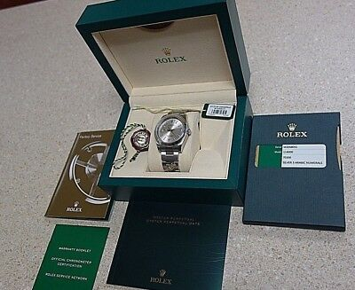 Rolex Oyster Perpetual Steel Dominos Pizza 36mm Watch BoxPapers 116000