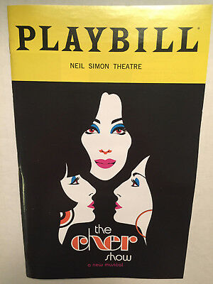 THE CHER SHOW PLAYBILL BOOK BROADWAY NEW YORK NOVEMBER 2018