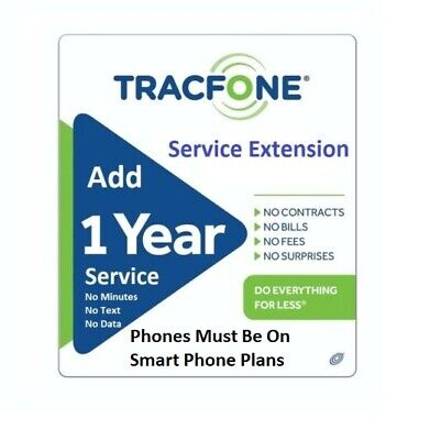 TracFone Service Extension 365 Days for Branded Phones Direct Load