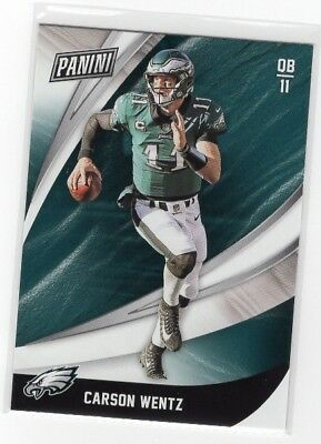 2018 Panini Black Friday Football Base Carson Wentz