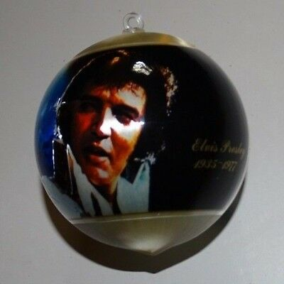 Elvis Presley Christmas Ball Ornament - Hard to Find - vintage collectible -1977