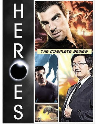 Heroes The Complete Series DVD 2010 24-Disc Set Seasons 1-4 Brand New
