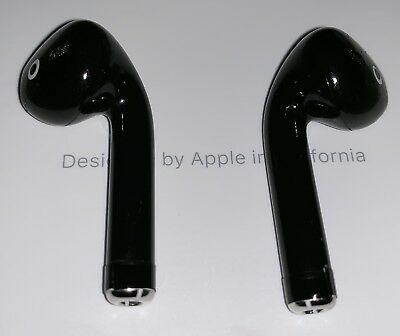 Apple AirPods in black - professionally painted Blackpods bluetooth