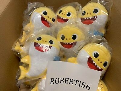 100 Authentic Pinkfong Yellow Baby Singing Shark By Wowwee US Song Version