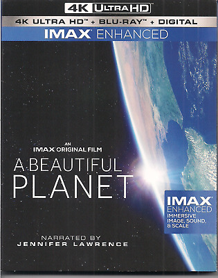 A Beautiful Planet Imax Jennifer Lawrence 4K - digital NO REGULAR BLU-RAY DISC