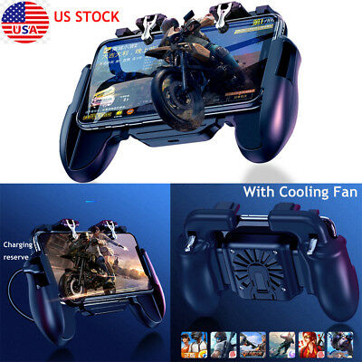 Mobile Game Controller-Gamepad for PUBGFortniteKnives for iOSAndroid H5 New