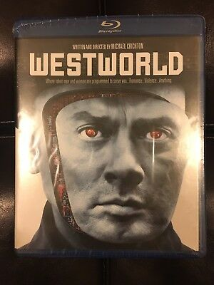 Michael Crichtons WESTWORLD 1973 Blu-ray Yul Brynner Richard Benjamin SEALED