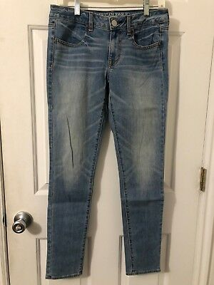 American Eagle Outfitters Jegging Super Stretch Jeans Pants Size 6 R Blue