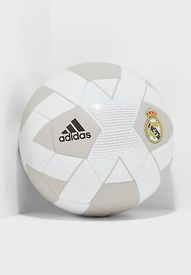 REAL MADRID Soccer Ball WhiteCream - CW4156 Adidas SIZE 5