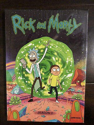 Rick and Morty The Complete First Season DVD 2014 2-Disc Set - BRAND NEW