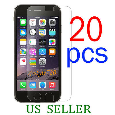 20pcs Full Front Screen Protector Guard Cover Film For Apple iPhone 6 Plus 5-5