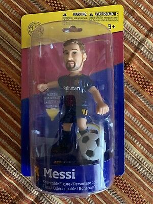 Maccabi Art LIONEL MESSI FC Barcelona Collectible Figure With Ball NEW LOOK