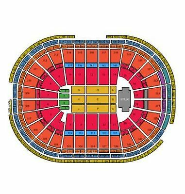 Eric Church Private VIP area Front Row tickets 2119 TDGarden Boston Feb 1-