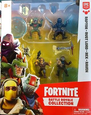Fortnite Battle Royale Collection Squad Pack Epic Games Floss Life IN HAND NEW