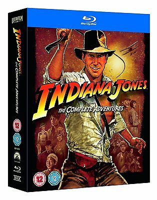 Indiana Jones - The Complete Adventures Collection Blu-ray 5 Discs NEW