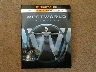Westworld Season One The Maze 4K Ultra HD Blu-rayBlu-Ray 2017