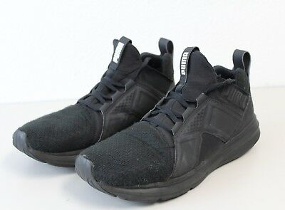 Mens PUMA Enzo Shoes Trainers Sneakers Black Size 10 - ART 18949803