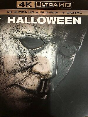 HALLOWEEN 4K ULTRA HD-BLU-RAY-DIGITALWSLIPCOVER NEW FACTORY SEALED