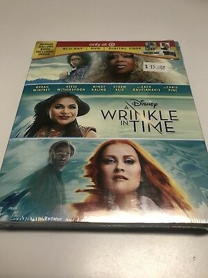 A Wrinkle In Time Blu-ray - DVD