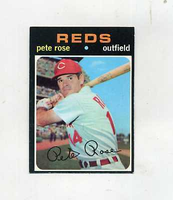 1971 Topps  100 Pete Rose-ExEx-CleanCrease Free-No surprises