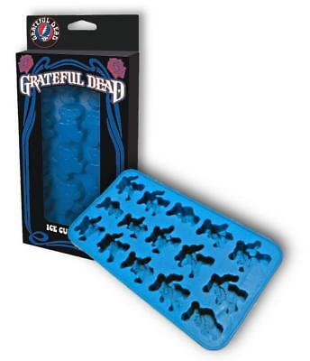 Grateful Dead Dancing Bears Silicone Ice Cube Tray  Gummy mold Chocolate Mold