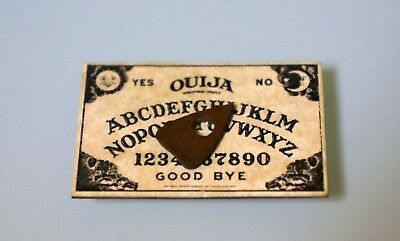 Miniature Ouija Board  Dollhouse 112 Scale