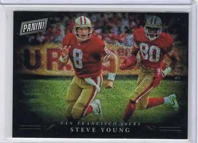 2018 Panini Black Friday Steve Young Parallel 49ers 1325 SY