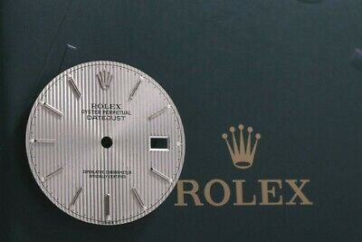 Rolex Silver Tapestry Dial for Mens Datejust 16014 - 16234 FCD8296