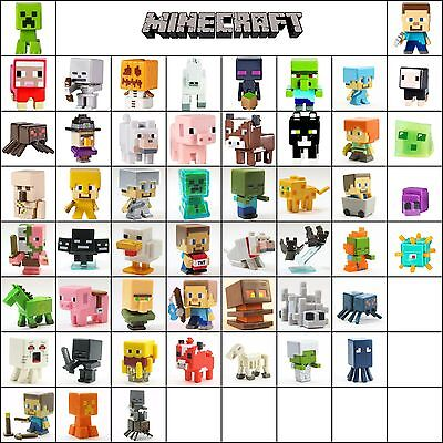 36PcsLot Minecraft Series 2 Stone 3 4 5 Mini Action Figure Toys Characters Sets