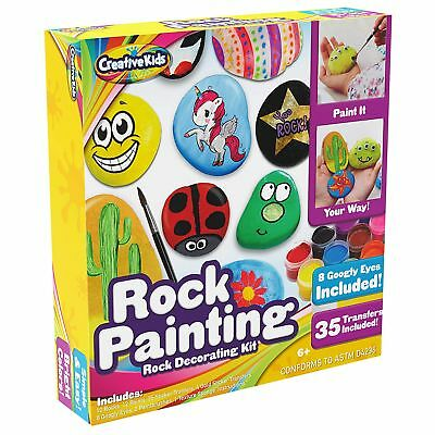Ultimate Rock Painting Craft Kit for Kids – Rock Art Set