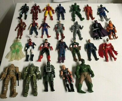 Hasbro 3-75in Marvel Action Figures  Opened