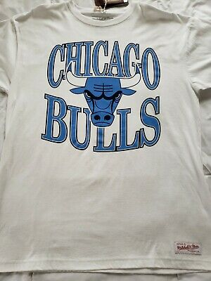 Mitchell - Ness Chicago Bulls Traditional Logo NBA T-shirt Mens XL New with Tags