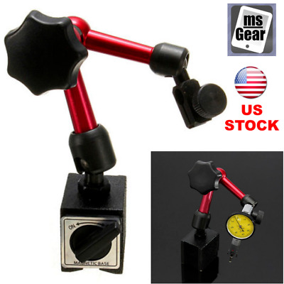 Mini Flexible Magnetic Base Holder Stand Tool for Dial Gauge Test Indicator