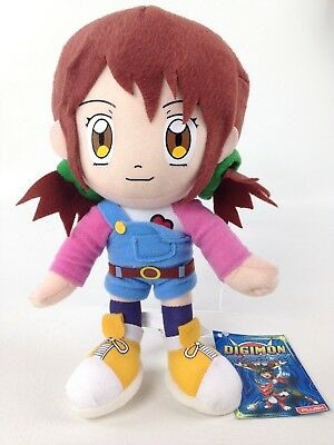 Digimon Fusion Angie Hinomoto 9 Inch Plush Toy Digi-fusion Stuffed Doll NWT