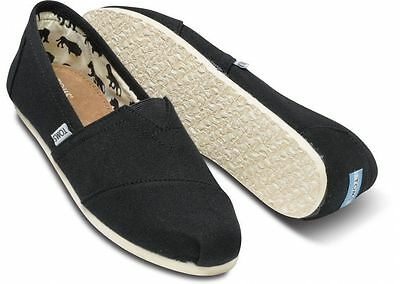 Toms Womens Classics Slip On Authentic BlkAshRedNavyOlive