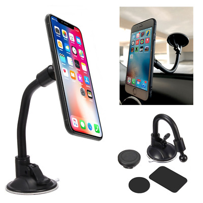 360° Car Magnetic Cell Phone Windshield Mount Holder For iPhone 6s 7 Plus X XR