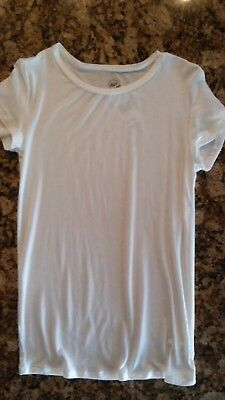 NWT WET SEAL BASIC WHITE TOP SHIRT X-Small Forever 21