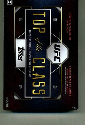 2016 Topps UFC Top OF The Class Factory Sealed Hobby Box-3 HITS IN THE BOX