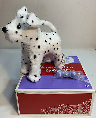 American Girl Doll Truly Me Pet Dalmation Posable Puppy WToy Magnet Bone NEW