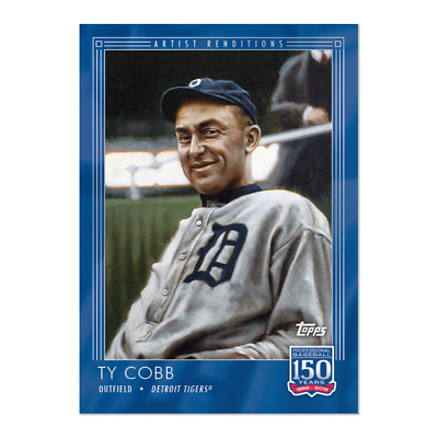 2019 Topps 150 Years of Baseball 21 Ty Cobb Detroit Tigers