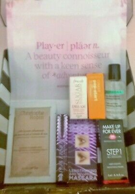 NEW APRIL SEPHORA PLAY BOX EXCELLENT THIS MONTH CLINIQUE PERVERSION MICELLAIRE
