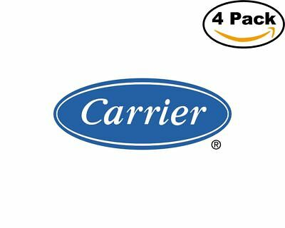 Carrier Heat Ac 1 4 Stickers 4X4 inches Sticker Decal