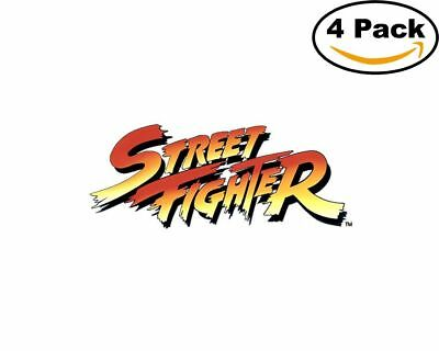 Game Street Fighter 4 Vinyl Stickers 4X4 Inches Decal 1