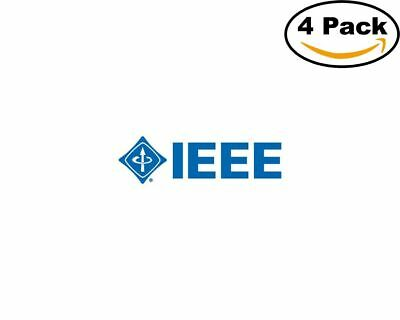 ieee 4 Stickers 4x4 Inches Sticker Decal