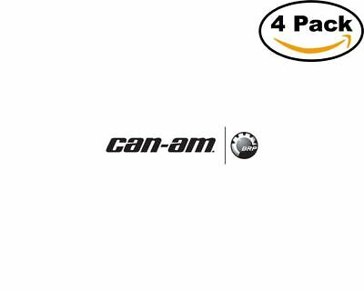 can am brp logo 4 Stickers 4x4 Inches Sticker Decal