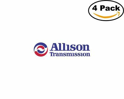 Allison Transmission 14934 4 Stickers 4X4 inches Sticker Decal