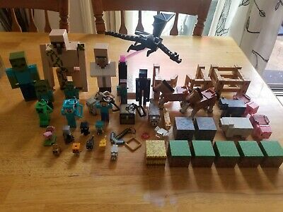 Awesome Lot of Minecraft Figures and Toys