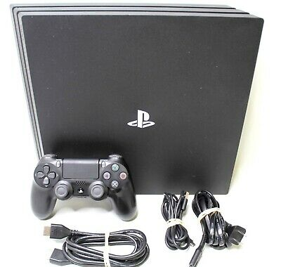 Sony Playstation 4 PS4 Pro 1TB Console - Black TESTED CUH-7215B