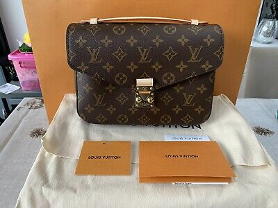 260dd34b8e5bc Authentic Brand New Louis Vuitton Pochette Metis Monogram 2019 Used Once
